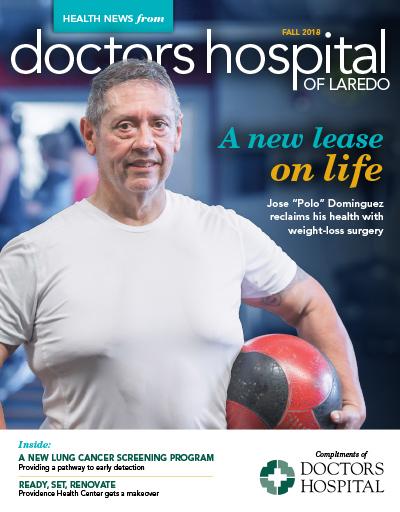 Portada de la Revista Health News- Otoño2018