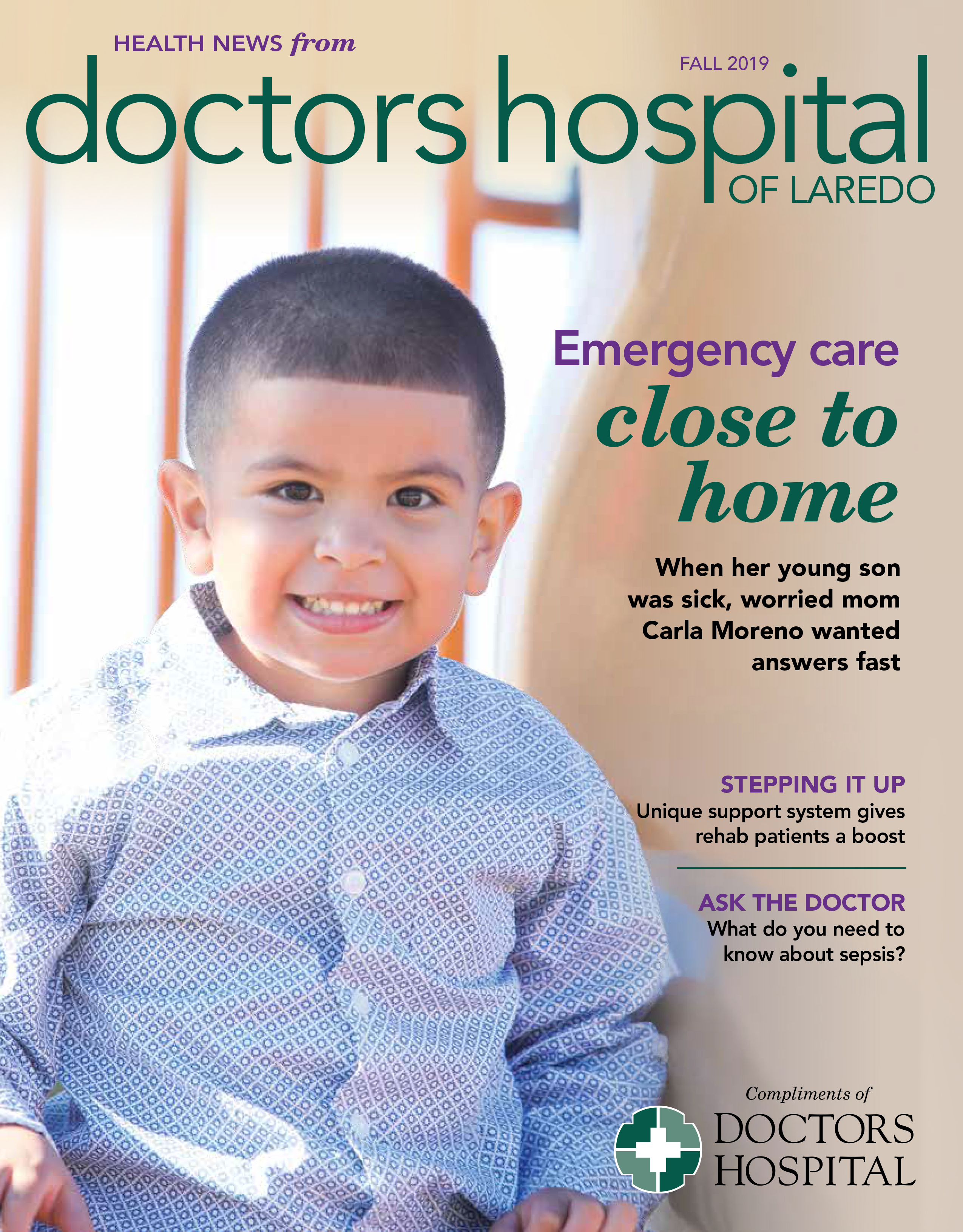 Doctors Hospital Laredo - Health News Magazine Fall 2019 (December)