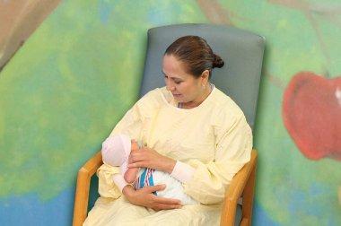 Cuddler Program for NICU Babies at Doctors Hospital