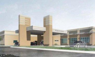 Representación del nuevo edificio de DHL