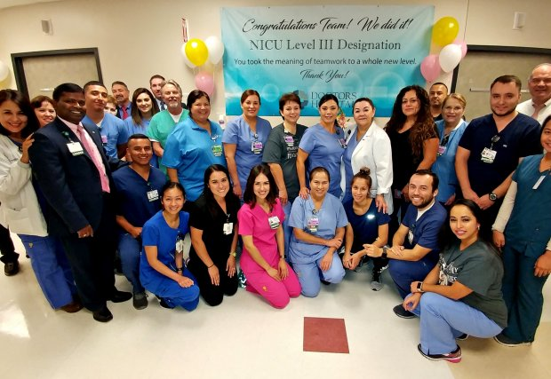 Doctors Hospital Neonatal Intensive Care Unit Designated as Level III NICU