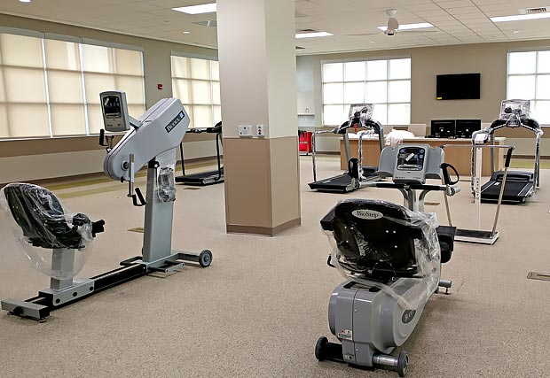 ICU and cardiac rehab expansion
