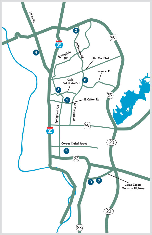 Map Of Doctors Hospital Of Laredo
